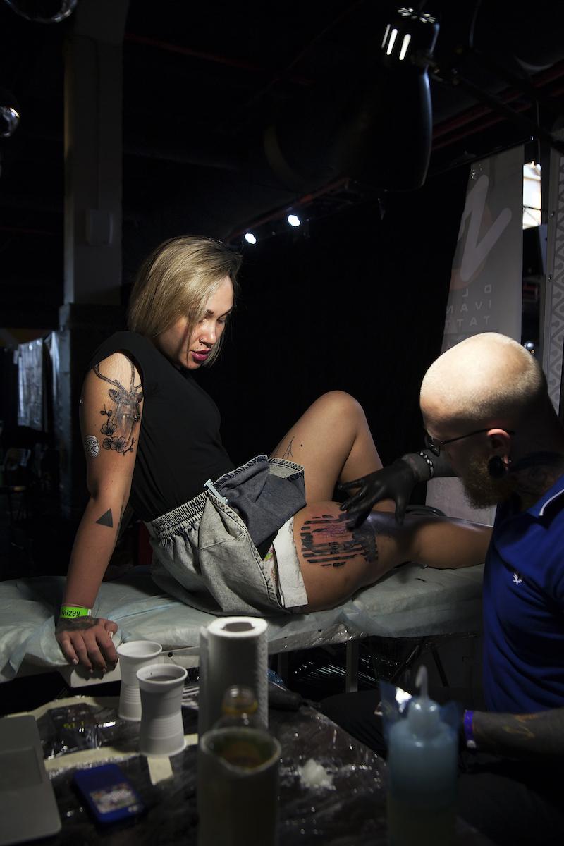 Темнокожие татуированные девушки фото 5 фотография